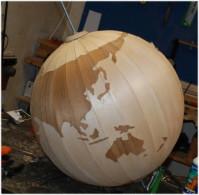 Proiezione terra, planisferio, mappamondo