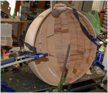 Mappamondo, mappamondo in legno, planisferio